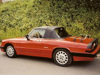 Giovanni - Cabriokappen - Alfa Romeo